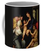 Madonna Dell'impannata Coffee Mug by Raphael