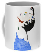 Madonna True Blue Coffee Mug by Stormm Bradshaw