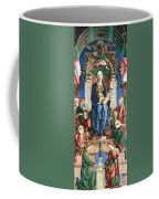 Madonna With The Child Enthroned  Coffee Mug by Cosme Tura