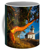 Madrone And Lighthouse Coffee Mug