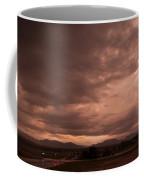 Magenta Clouds Coffee Mug