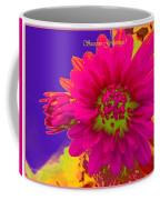 Magenta Greetings Coffee Mug