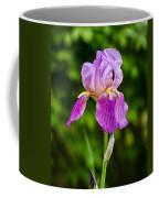 Magenta Iris Profile Coffee Mug