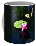 Magenta Lily Monet Coffee Mug