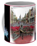 Magic Kingdom Walt Disney World 3 Panel Composite Coffee Mug