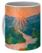 Magic Light At Carvins Cove Coffee Mug