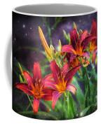 Magical Evening Daylilies Coffee Mug