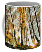 Magical Forest - Drawing Coffee Mug