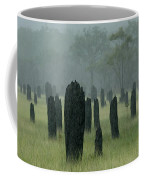Magnetic Termite Mounds Coffee Mug by Bob Christopher