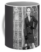 Magnificent Obsession Bw Palm Springs Coffee Mug by William Dey