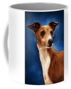 Magnifico - Italian Greyhound Coffee Mug by Michelle Wrighton