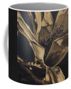 Magnolia Blossom In Sepia Coffee Mug
