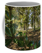 Magnolia Leaves Coffee Mug