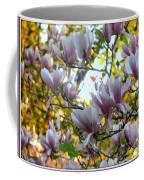 Magnolia Maidens In A Border Coffee Mug