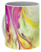 Magnolia Watercolor Abstraction Painting Coffee Mug