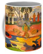 Mahana No Atua Aka. Day Of The Gods Coffee Mug