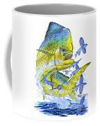 Mahi Mahi Coffee Mug by Carey Chen