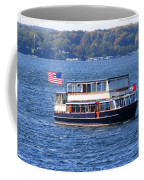 Mail Delivery Boat Lake Geneva Wisconsin Coffee Mug