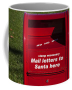 Mail Letters To Santa Here Coffee Mug
