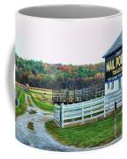 Mail Pouch Tobacco Barn In The Fall Coffee Mug