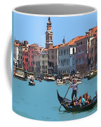 Main Canal Venice Italy Coffee Mug