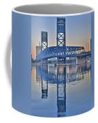 Main Street Bridge Jacksonville Florida Coffee Mug