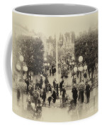 Main Street Disneyland Heirloom Coffee Mug