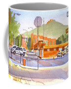 Main Street In Morning Shadows Coffee Mug