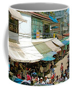 Main Street Marketplace In Tachilek-burma Coffee Mug