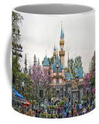 Main Street Sleeping Beauty Castle Disneyland 01 Coffee Mug
