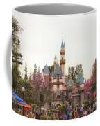 Main Street Sleeping Beauty Castle Disneyland 02 Coffee Mug