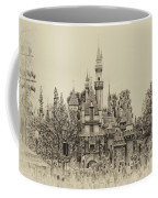 Main Street Sleeping Beauty Castle Disneyland Heirloom 01 Coffee Mug