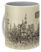 Main Street Sleeping Beauty Castle Disneyland Heirloom 03 Coffee Mug