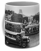 Main Street Transportation Disneyland Bw Coffee Mug