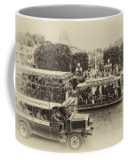 Main Street Transportation Disneyland Heirloom Coffee Mug