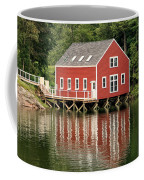 Maine Boat House Coffee Mug