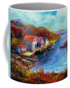 Maine Harbor Coffee Mug