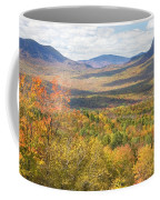 Maine Mountains In Fall Mount Blue State Park  Coffee Mug
