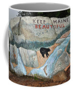 Maine Rock Painting Coffee Mug