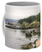 Maine's Beautiful Rocky Shore Coffee Mug