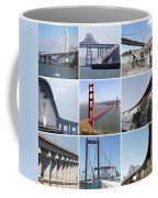 Majestic Bridges Of The San Francisco Bay Area Coffee Mug
