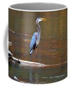 Majestic Heron Coffee Mug