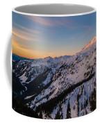Majestic Mount Baker Sunrise Light Coffee Mug
