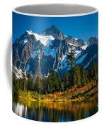 Majestic Mount Shuksan Coffee Mug by Inge Johnsson