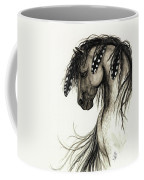 Majestic Mustang Horse Series #51 Coffee Mug by AmyLyn Bihrle