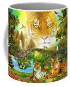 Majestic Tiger Grotto Coffee Mug
