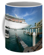Majesty Of The Seas Docked At Key West Florida Coffee Mug