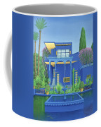 Majorelle Gardens, Marrakech Coffee Mug