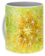 Make A Wish In Greenish Yellow Coffee Mug