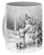 Making A Snowman Coffee Mug